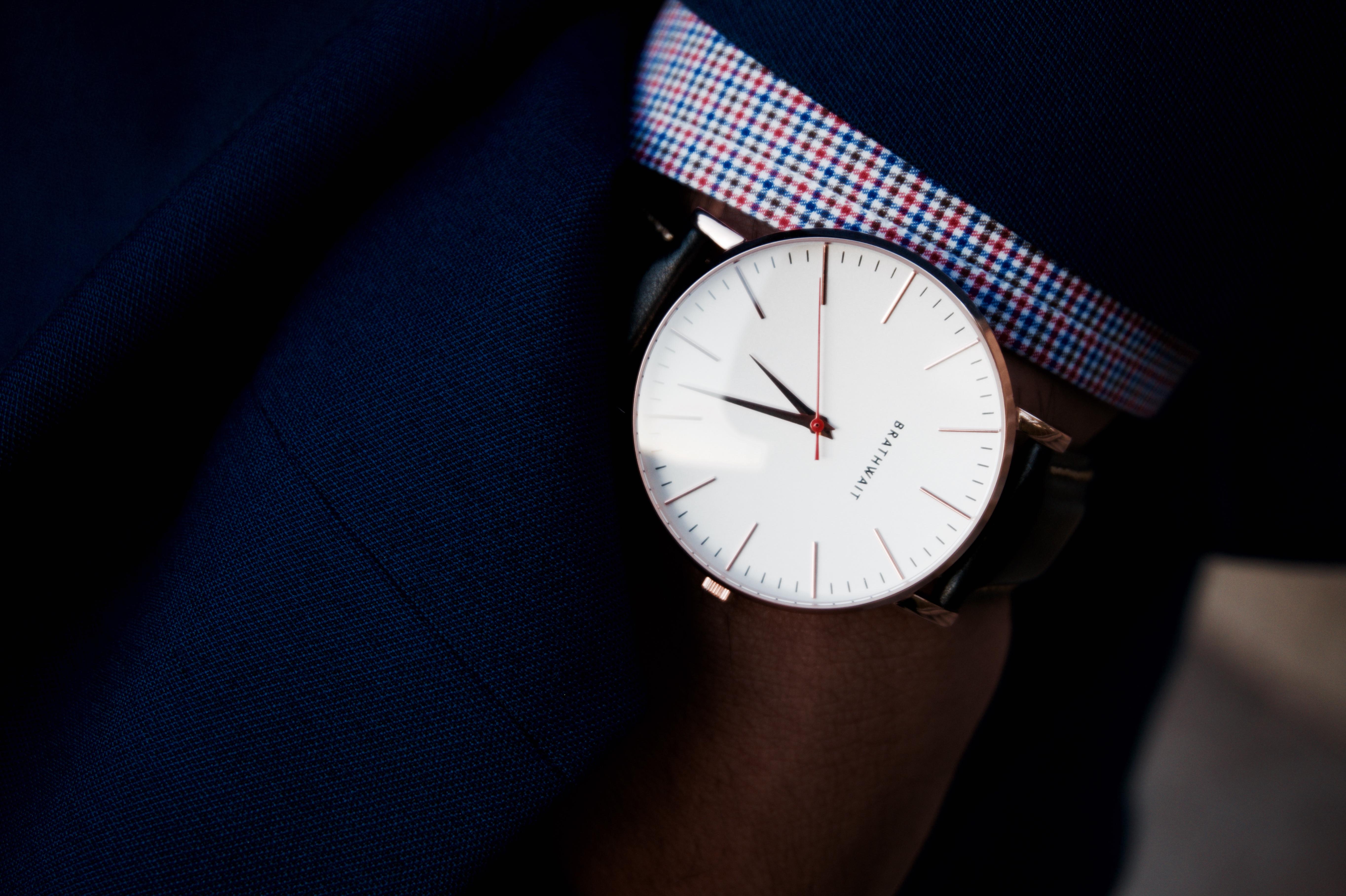 Brathwait Classic Slim Wrist Watch The Prep Guy